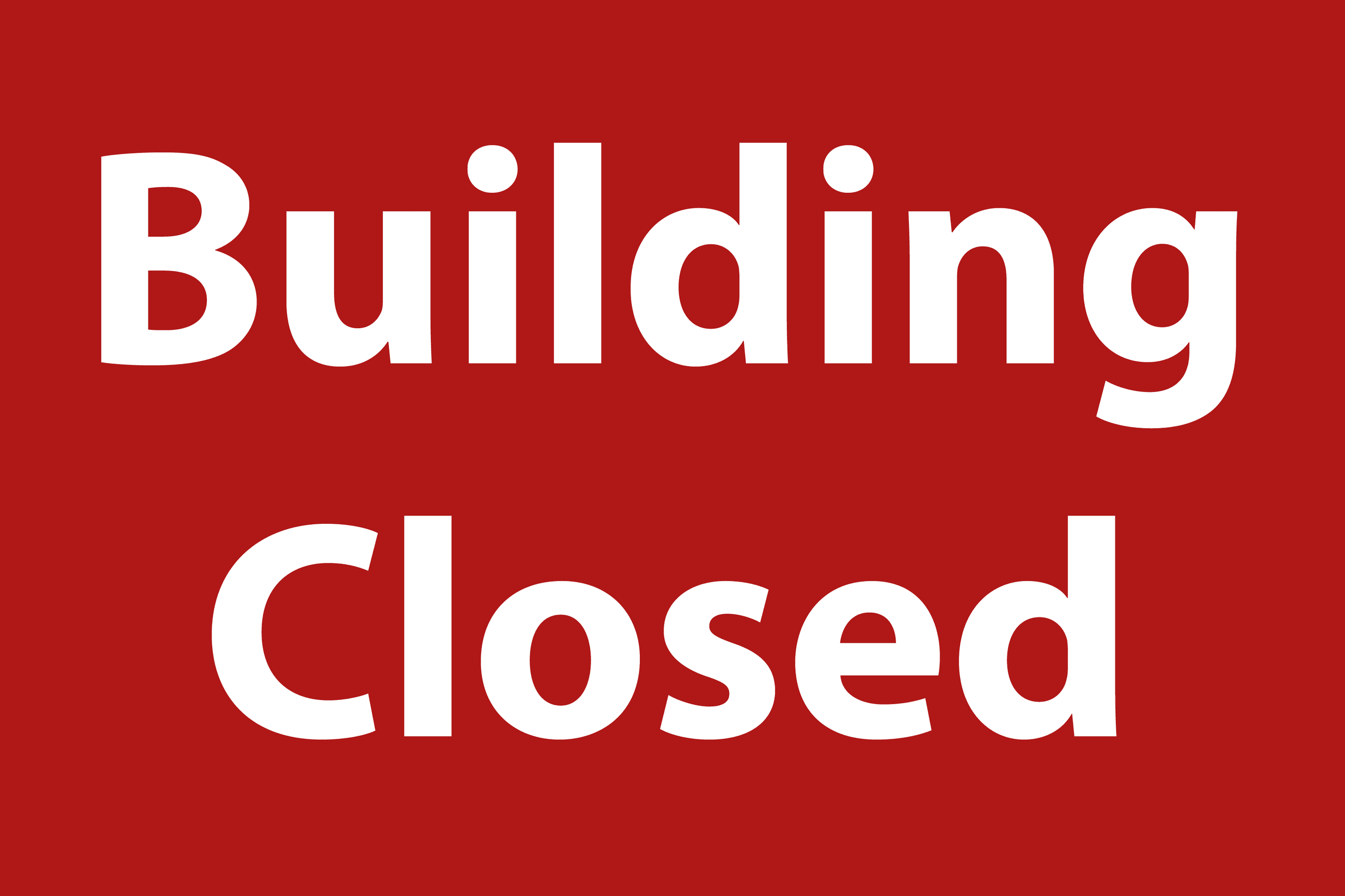 Building Closed