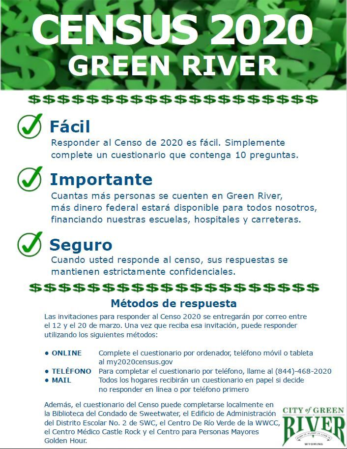 CENSUS 2020 Green River 2