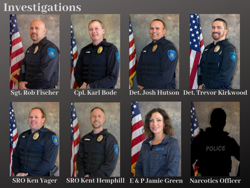 Photo of Investigations Officers