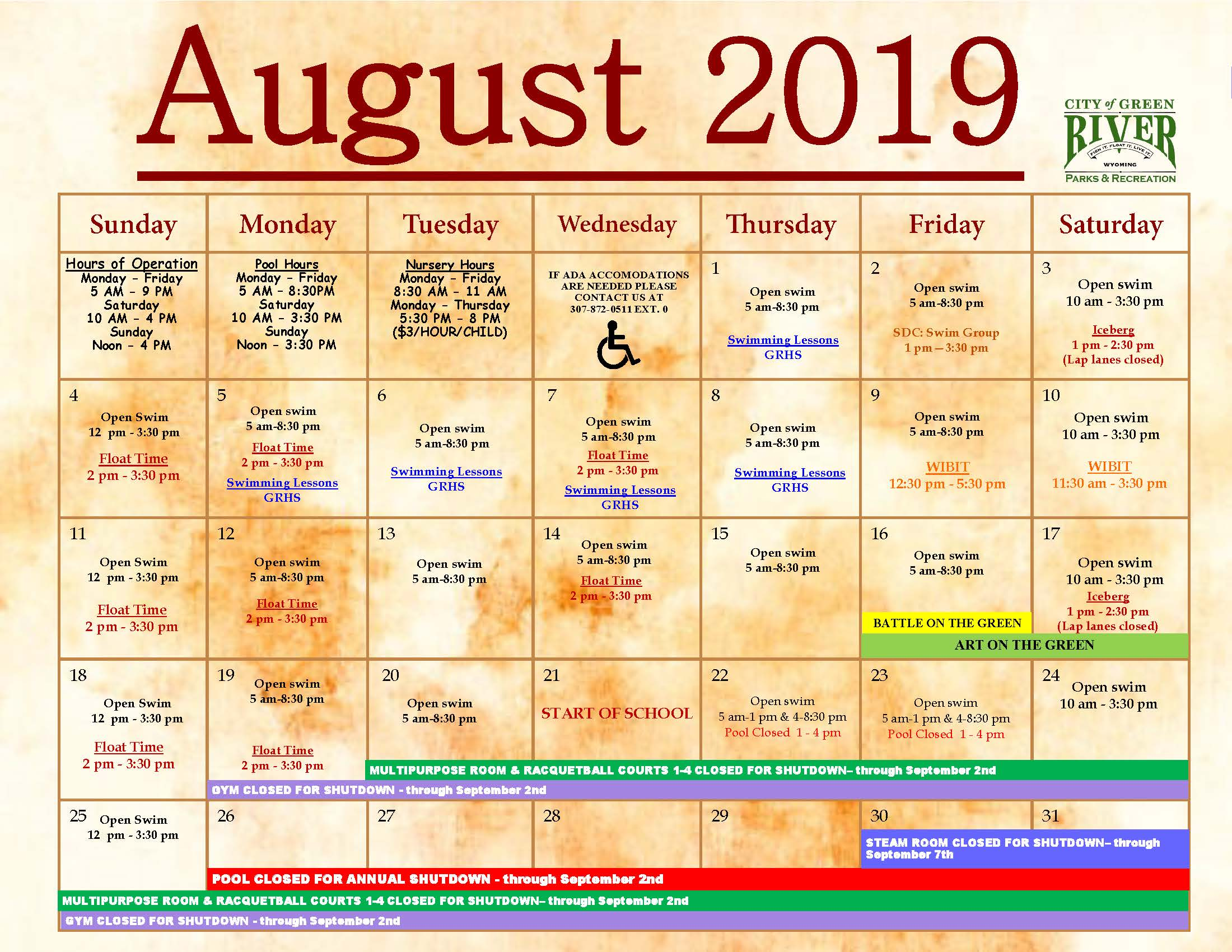8.1.2019 Calendar and Newsletter_Page_1