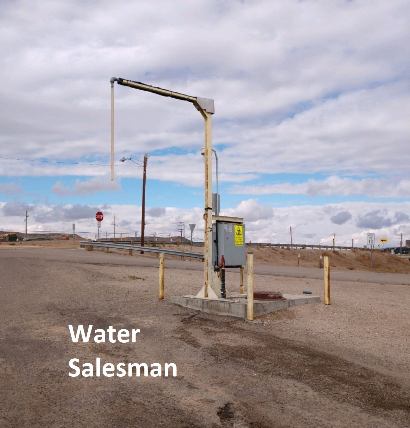 Bulk Potable Water Salesman