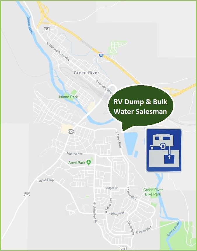 RV dump stations map